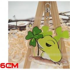 Japanese Game Travel Frog Game Acrylic Cute Keychain