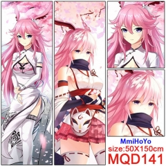 MmiHoYo Cosplay Two Sides Print Long Style Soft Pillow Wholesale Comfortable Anime Pillow 50*150CM