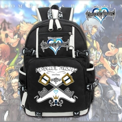 Kingdom Hearts Cosplay Cartoon High Quality Anime Backpack Bag
