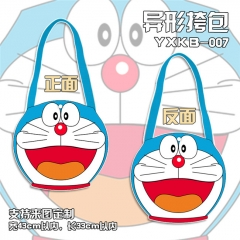 Good Quality Doraemon Cartoon Anime Cute Canvas Satchel Bag
