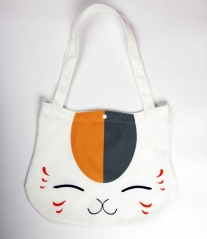 Japanese Cartoon Natsume Yuujinchou Anime Cute Canvas Satchel Bag