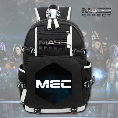 Mass Effect Cosplay Cartoon High Quality Anime Backpack Bag