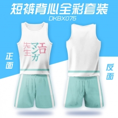 Eromanga Sensei Soft Girls Sports Cartoon Vest And Short Pants