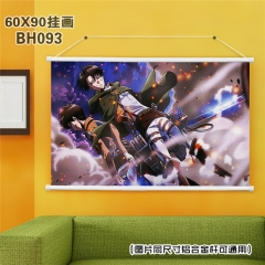 Attack On Titan/Shingeki No Kyojin Cartoon Painting Anime Poster Fancy Wall Scrolls