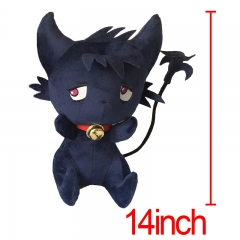 SERVAMP Anime Kuro Plush Doll Anime Plush Toys 35CM