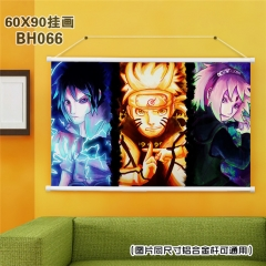 Japanese Cartoon Painting Naruto Anime Poster Fancy Wall Scrolls