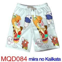 Miira no Kaikata How to Keep a Mummy Short Pants Cosplay Beach Anime Pants