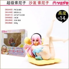 Super Sonico Anime Sexy Girl PVC Figure Cartoon Cute Figures 13cm