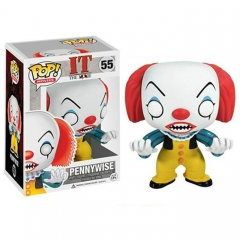 Funko POP Child's Play Chucky Pennywise Action PVC Figure Toys 55#