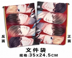 Love and Producers Cosplay Cartoon For Student Office File Holder Anime File Pocket