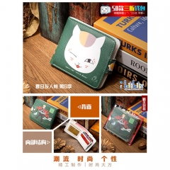 Natsume Yuujinchou Cosplay Cartoon High Quality PU Purse Anime Folding Wallet 10*12cm