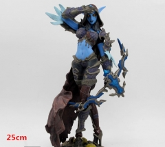 World of Warcraft Sylvanas Windrunner New Arrival Fashion Anime Cool Design PVC Figure