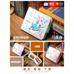 Eromanga Sense/Izumi Sagiri Cosplay Cartoon High Quality PU Purse Anime Folding Wallet 10*12cm