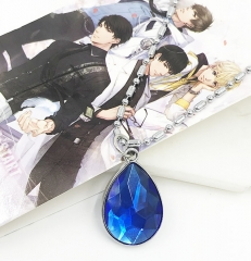 Love and Producer Cosplay Game Two Sides Decoration Anime Necklace