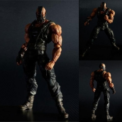Play Arts Batman The Dark Knight Rises Bane Cartoon Toys Super Hero Anime PVC Figure 24cm