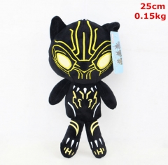 Marvel Comics Black Panther Movie For Kids Anime Plush Toy Doll