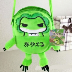 Travel Frog Cosplay Fancy For Kids Mini Cute Anime Crossbody Plush Bag