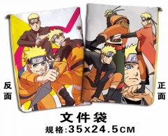 Naruto Cosplay Cartoon For Student Office File Holder Anime File Pocket
