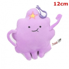 Adventure Time With Finn And Jake Game Cosplay Lumpy Space Princess Plush Toy Keychain