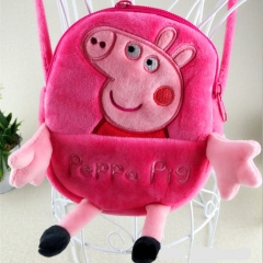 Peppa Pig Cosplay Fancy For Kids Mini Cute Anime Crossbody Plush Bag