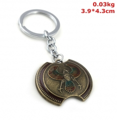 Dark Souls Cosplay Decoration Unisex Alloy Anime Keychain