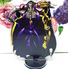 Overlord Cosplay Cartoon Acrylic Anime Standing Plates 15cm