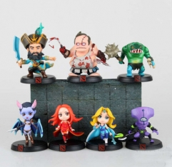 DOTA2 Anime Figure (7pcs/set)