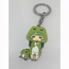 Travel Frog Cartoon Key Ring Pendant Wholesale Anime Alloy Key Chain