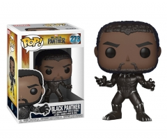 Funko POP The Avengers Black Panther Action PVC Anime Figure Toys 273#