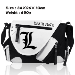 Death Note Cartoon Crossbody Bag Wholesale Thick Anime PU Canvas Shoulder Bag