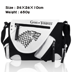 Game Of Thrones Movie Crossbody Bag Wholesale Thick Anime PU Canvas Shoulder Bag