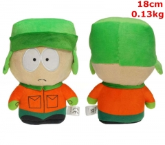 South Park Anime Kyle Broflovski Cosplay Cartoon Doll Anime Plush Toy