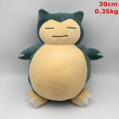 Pokemon Cosplay Cartoon Snorlax Cute Collection Doll Anime Plush Toy