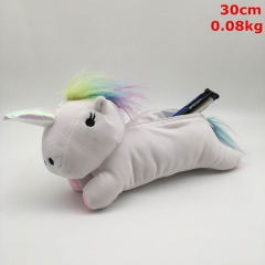 Unicorn Cosplay Cartoon Cute For Student Anime Plush Pecil Bag