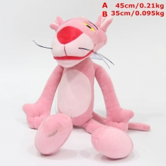 Pink Panther Cosplay Cute Cartoon For Kids Collection Doll Anime Plush Toy