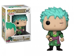 Funko POP One Piece Roronoa Zoro Model Toys Anime PVC Figure 327#
