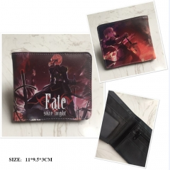 Fate Stay Night Anime PU Leather Wallet and Purse