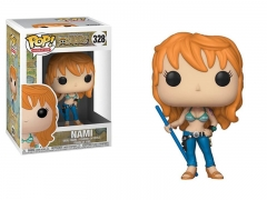 Funko POP One Piece Nami Model Toys Anime PVC Figure 328#