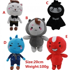 5 Designs Hot Korean Drama The Lonely and Great God Plush Toy Goblin Toys