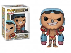 Funko POP One Piece Franky Model Toys Anime PVC Figure 329#