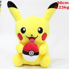 Pokemon Pikachu Cosplay Cute Cartoon For Kids Doll Anime Plush Toy