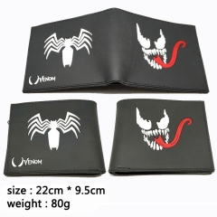 Batman Venom Cosplay Movie Silica Gel Purse Anime Wallet