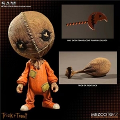 Mezco Trick or Treat Sam Action Figure Plastic Figure Toy 6 inch
