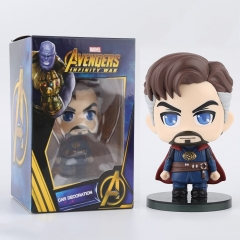 Two Size The Avengers Doctor Strange Q-version Cartoon Toys Anime PVC Figures