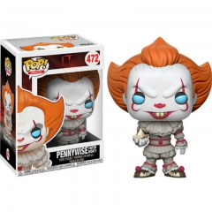 Funko Pop Stephen King's It Pennywise Movie Anime Action Figure Toy 472#