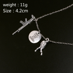 The Walking Dead Cosplay Movie Fashion Pendant Decoration Alloy Anime Necklace