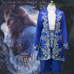 Movie Beauty And The Beast Prince Cosplay Costume Fancy Clothes