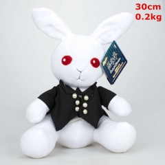 Kuroshitsuji / Black Butler Sebastian Michaelis Cosplay Cartoon Stuffed Doll Cute Design Anime Plush Toy