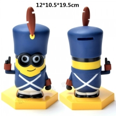Despicable Me Pirate Design Minions Model Piggy Bank Original Anime Money Pot