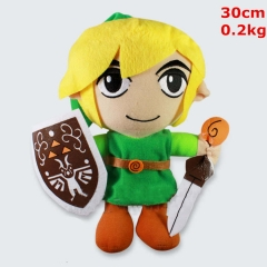 The Legend Of Zelda Cosplay Cartoon Stuffed Doll Cute Design Anime Plush Toy